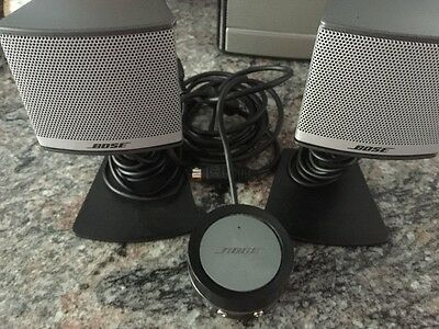 Bose Companion 3 Multimedia Computer Speakers with volume controler NOsubwoofer