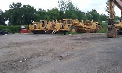 "Cat 637 ""D"" Scraper , one owner , well serviced , excellent overall condition"