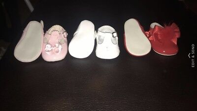 BRAND NEW WITHOUT BOX SIZE 16 Pram Shoes Bundle For Baby Girl. Babypods And Pex