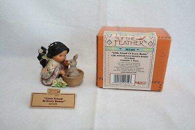 Friends of the Feather Figure Little Friend Every Bunny Enesco 303305 FREE SHIP!