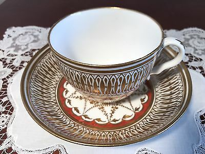 Antique Spode Cup And Saucer