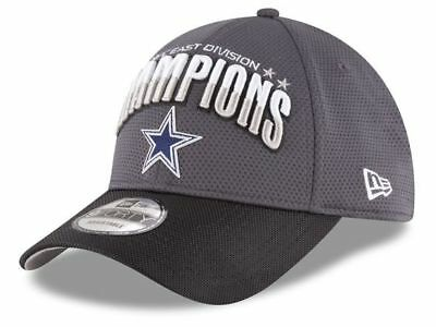 outlet store 895ea da932 Dallas Cowboys New Era 9FORTY Gray NFC East Champion Adjustable NFL Team Cap  Hat