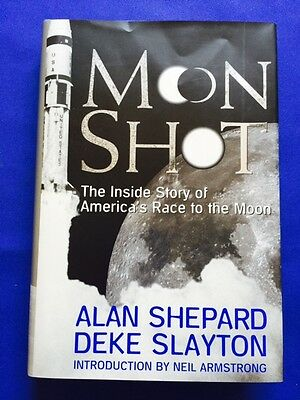 Moon Shot - First Edition Signed By Astronaut Alan Shepard