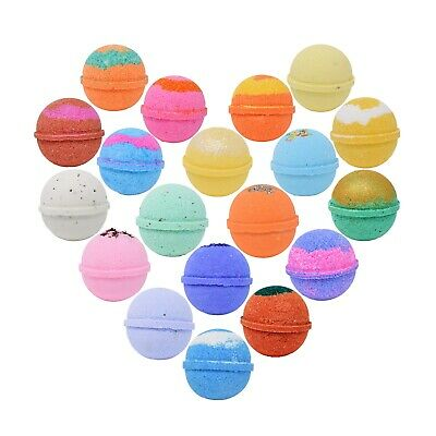 30 Premium Bath Bombs, Bath Bomb for Women, Assorted Scents, Made in USA