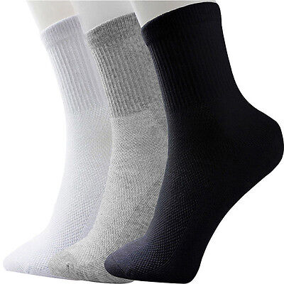 Practice 5 Pairs Men's Socks Winter  Warm Thermal Casual Soft Cotton Sport Sock