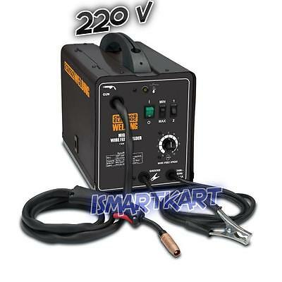 Chicago Electric Welding MIG/Flux Cored Welder 170 Amp-DC, 240 Volt, 4 Output