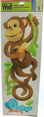 Main Street Wall Creations Stickers Home Decor Wall Clings Jumbo Monkey  Vine And Part 72