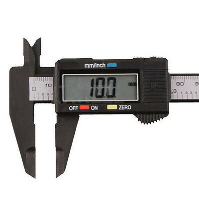 Plastic 150MM 6inch LCD Digital Electronic Vernier Caliper Gauge Micrometer Kit.