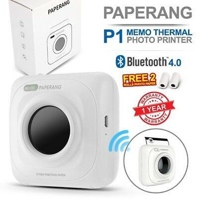 PAPERANG P1 Portable Bluetooth Wireless Phone Memo Thermal Receipt Photo Printer