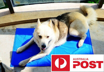 Pet Cool Gel Mat Dog Cat Bed Non-Toxic Cooling  Pad Best quality on AU ebay
