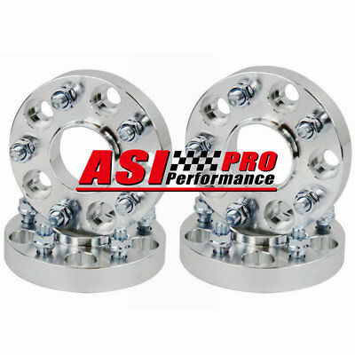 """4PCS 1.5"""" 5 Lugs Hubcentric Wheel Spacers For Jeep Wrangler JK 5X5-5X5 1/2X20"""