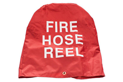 """Fire Hose Reel Cover in Canvas. """"Fire Reel cover"""" Suits most AS 1221 Hose Reels"""