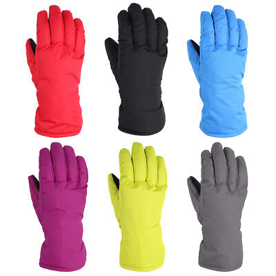 1 Pair Winter Warm Waterproof Windproof Snow Cycling Ski Sports Skiing Gloves