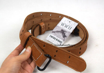 Military WWII US Army Garand Rifle M1907 Leather Sling