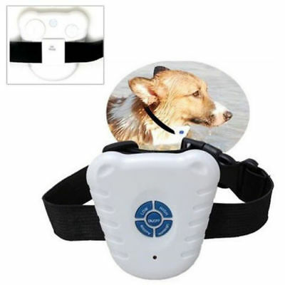 Mini Dog Stop Barking Training Collar Pet Anti Bark Aid Control Ultrasonic Sound