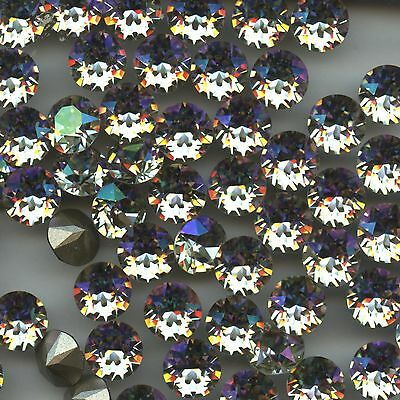 1088 SS39 LUM *** 8 STRASS SWAROVSKI FOND CONIQUE SS39(8,3mm) LUMINOUS GREEN F