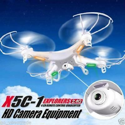 Camera Drone 6-Axis Gyro RC UAV RTF Quadcopter 8GB X5C-1 2.4Ghz UFO SYMA Camera