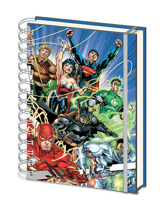 Justice League United Premium A5 Notebook Journal Lined Hardbacked Super Hero