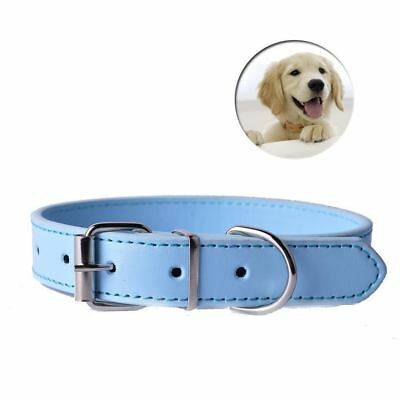 Fashion 8Colors Pu Leather Pet Dog Collar For Puppy Cat Chihuahua Small Dog Neck