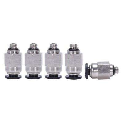 4mm Pneumatic Air Tubing to M5 Connector Push to Connect Fitting 5 Pcs K5S6