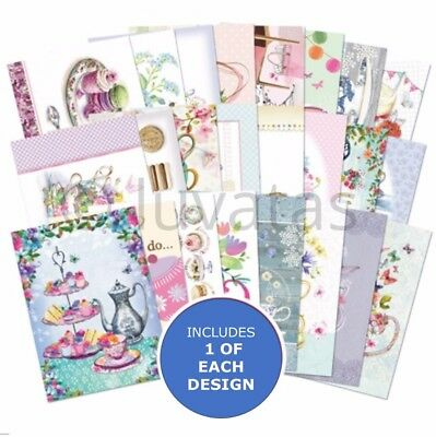 Hunkydory The Little Book of Afternoon Tea - Sample Pack 24 sheets x A6