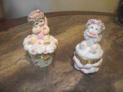 Dreamsicles Trinket Box  Lot of 2