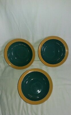 Denby Spice (3 fruit/cereal bowls) 6.25 inches