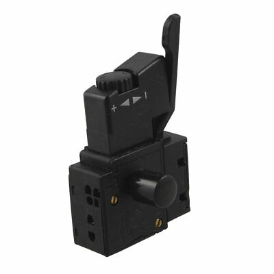 FA2-4/1BEK SPST Lock on Power Tool Trigger Button Switch Black M4E7