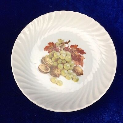 Burleigh Ironstone bowl - Staffordshire, England Grapes and Nuts Dish 11.5cm