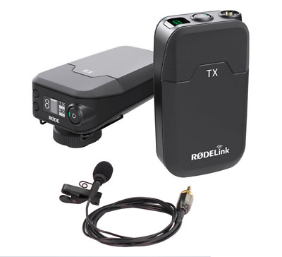 Rode RodeLink Filmmaker Kit Digital Wireless Microphone System New
