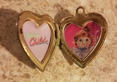 HTF My Child Doll. Original Vintage 80s Locket.