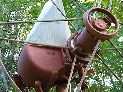 Aermotor Windmill 8ft A612 with display tower, possible delivery