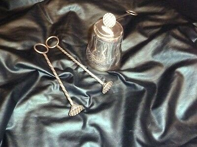 Collectors Rare Antique Christofle French Sterling Silver Wax Sealers c1800's