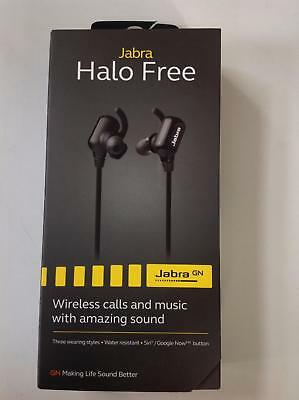 Jabra Halo Free Bluetooth Water Resistant Headphones - New and Sealed