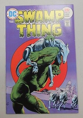Swamp Thing #17! (1975, DC)! NM9.4! High grade bronze age DC genius! MUST SEE!