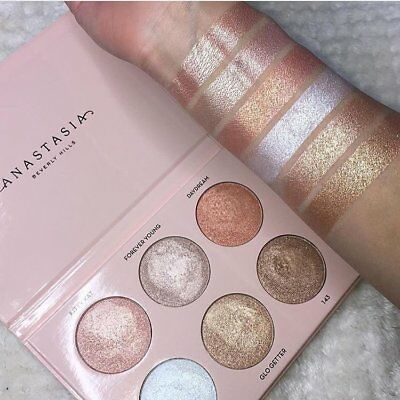 New Anastasia Beverly Hills Nicole Guerriero Glow Kit Palette Uk Stock