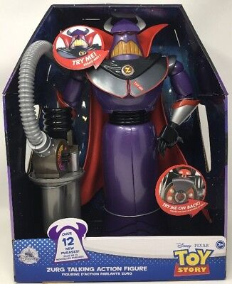 Disney Pixar Toy Story Zurg Talking Action Figure - New 2017 With 12 New  Phrases 58adf22a6f5