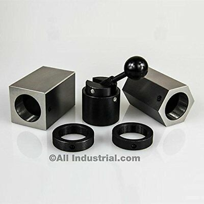 5C-CB 5C Collet Block Set - Hex Collet Block, Square Collet Block and Collet