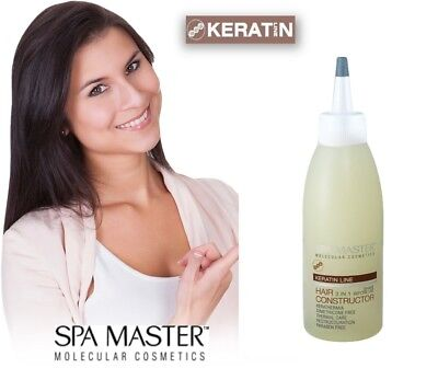 KERATIN HAIR CONSTRUCTOR 3-IN-1 BRAZILIAN KERATIN TREATMENT, NO formaldehide