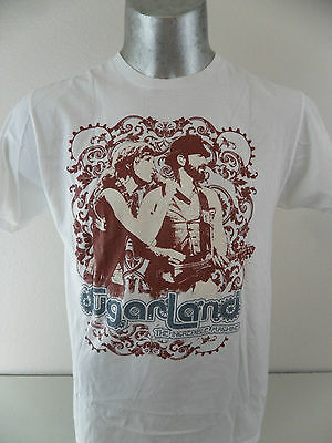 Sugarland The Incredible Machine Concert Tour Band Large T Shirt Country EUC