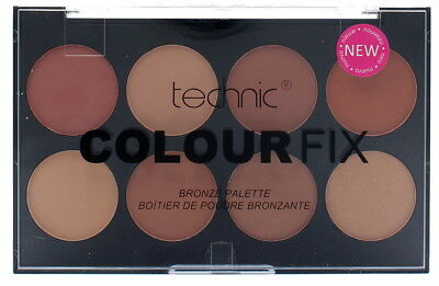 Technic Colour Fix Pressed Powder 8 Colour Contour Bronzer Palette