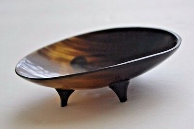 Beautiful Buffalo Horn Polished Round Circle For Soap Dish Or Souvenir