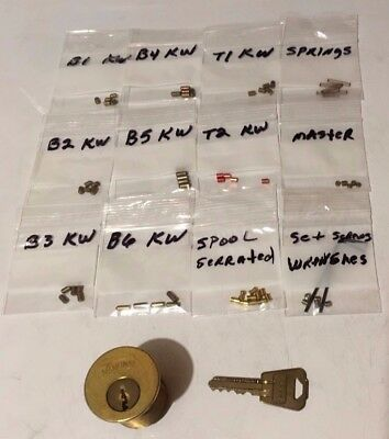 5 Pin Practice Training Lock Kits