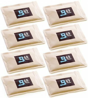 69% Boveda 60 Gram 2-Way Humidity Control Humidipak Humidifier 8 Packets 1481-8