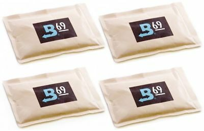 69% Boveda 60 Gram 2-Way Humidity Control Humidipak Humidifier 4 Packets 1481-4
