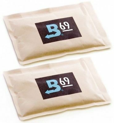 69% Boveda 60 Gram 2-Way Humidity Control Humidipak Humidifier 2 Packets 1481-2