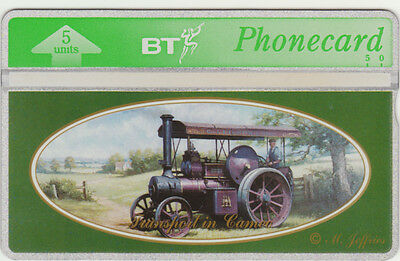 BT General 383 Transport in Cameo, Country Steam Traction Engine, Mint phonecard