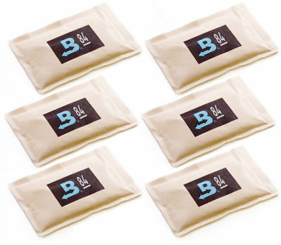 84% Boveda 60 Gram 2-Way Humidity Control Humidipak Humidifier 6 Packets 1481-6