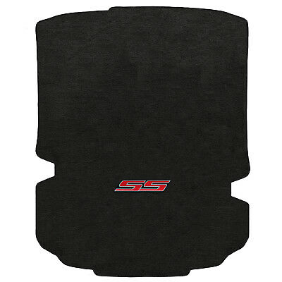 FOR CHEVROLET CAMARO 2016-2017 COUPE Trunk Floor Mats EBONY SS RED LOGO 620192