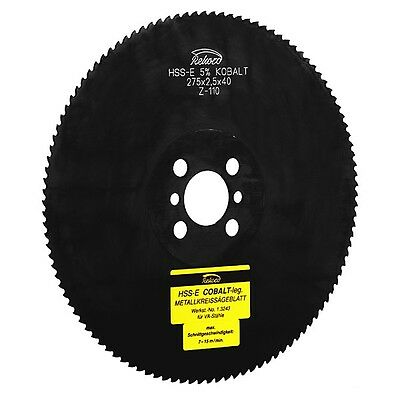 Metal Circular Saw 275 x 2,0 x 32/40 HSS-E (emo5 CO5) , Metal Saw Blade